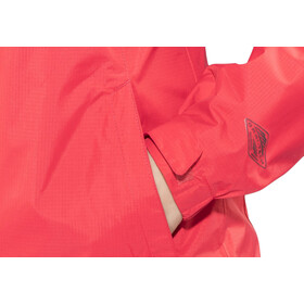Columbia Pouring Adventure II Jacket Women red camellia/white
